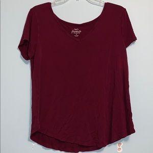 Rue21 red t shirt
